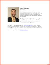 Resume Bio Example Executive Biography Example For Cfo Resume Examples Pinterest 11
