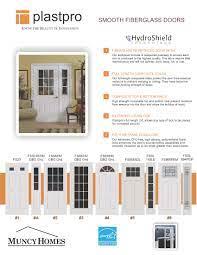 exterior doors muncy homes