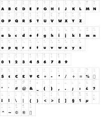 Below you can see glyphs futura bk bt book font. Futura Xblk Bt Bold Truetype Font