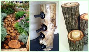 do you love do it yourself projects that you can do around the home and yard we ve found some beautiful wood and log projects that we re sure you are going