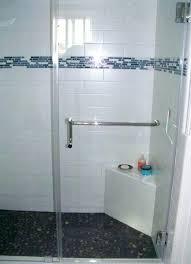 glass shower door hinge adjustment shower heavy glass panel door with loop handle towel bar glass