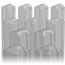 concrete fence posts. Contemporary Fence Concrete Fence Posts Intended E