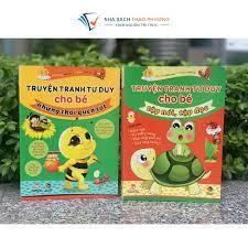 Sách - Truyện tranh tư duy cho bé tập nói, tập đọc - Kiến thức - Bách khoa  Tác giả Nhiều tác giả