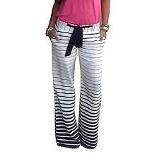 Mokingtop® <b>Stripe</b> Loose <b>Wide Leg Yoga</b> Lo- Buy Online in Cayman ...