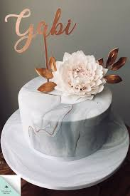 Sugar Design Marble Cake With Sugar Dahlia To See More Designs Visit My