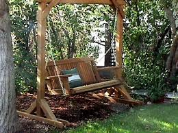 porch swings ing guide wood country