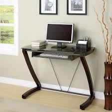 narrow small computer desk