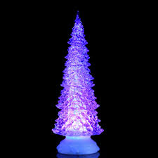 Battery Operated Christmas Lights Light Up Festive Tree With Changing Led Colours Battery Operated H32 X D12cm