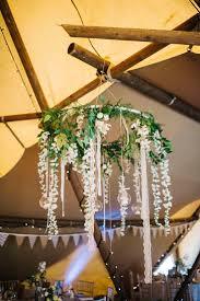 diy rustic wedding lighting. hanging chandelier | rustic wedding decor - tipi justin alexander big chief diy lighting