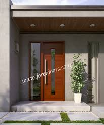 Gallery of modern wood front entry doors in stock at a discount ...
