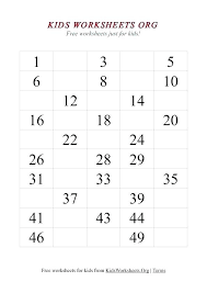 Number Worksheets Kindergarten For Free Math And Grade 1 The ...