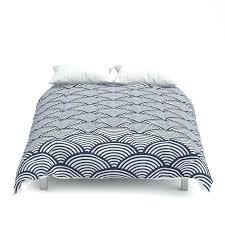 blue duvet cover full queen king duvet blue comforter japanese duvet cover japanese style bedding