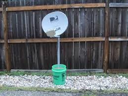 direct tv dish size satellite dish bucket mount youtube