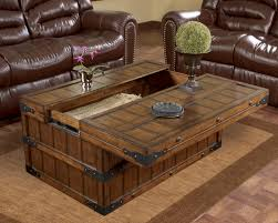 Amazing Coffee Tables : Breathtaking Brown Rectangle Wood Storage Rustic Coffee And End  Tables Ideas For Living Room Decor Table Set Furniture Charming Designs ... Amazing Pictures
