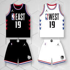 Nba All Star 2019 Jersey Design