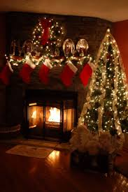 fireplace mantel lighting. welcome santa lovely christmas decorating ideas for fireplace mantels mantel lighting