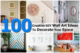 on 100 creative diy wall art ideas with 100 creative diy wall art ideas to decorate your space