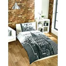 new york bedding set new city bedding scene single duvet set cover print themed sets new york bedding set