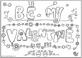 Small Picture Download Valentines Day Coloring Pages Printable