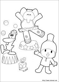 Small Picture Dibujos para colorear de Pocoy