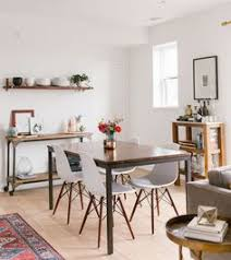 gws home tour mid century modern boho inspired dining room