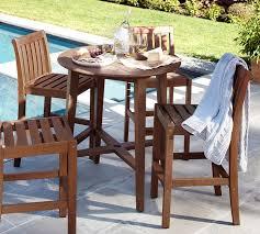 ham fsc mahogany bar height table