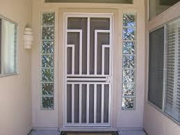 front door gateFront Door Security Screens  Guideline to Install Dead Bolt Front
