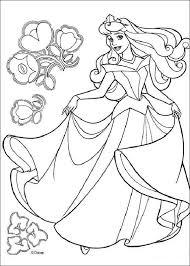 Doornroosje Kleurplaat Coloring Disney Disney Princess