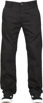 Volcom Pants Size Chart Frickin Regular Stretch Chino Pants