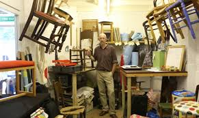 The Chair Man | Craft upholsterer studio with revamped, second-hand dining  and kitchen chairs | Wood Street Walthamstow E17 | Shopping, History, ...