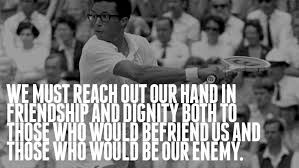 Arthur Ashe Quotes Simple Wisdomisms Arthur Ashe Click Read More Goodness Determined