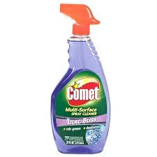 comet lilac bliss multi surface spray cleaner oz bathroom 32