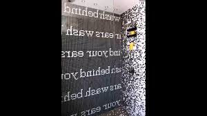 Mosaik Fliesen Badezimmer Sprüche Wand Verlegenart Youtube