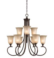 athens collection 9 light chandelier