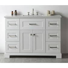 legion quartz top white 48 inch single bathroom vanity 19550873 great deals on legion furniture bathroom vanities mobile
