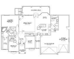 rambler house plans. Plain Plans Rambler House Plans With Basements  Traditional Home Plan  HWBDO75133  And A
