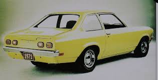 chevrolet vega 1971 vega sedan notchback