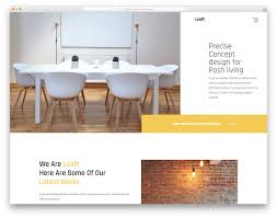 Most Popular Free Interior Design Website Templates 2019 Colorlib