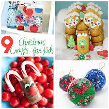 Kids Christmas Crafts 9 Christmas Crafts And Activities For Kids All In All