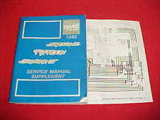 gmc syclone io 1992 gmc syclone typhoon sonoma gt truck shop service manual 92 wiring diagram