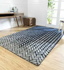 abstract pattern wool and viscose 8 x 5 feet hand tufted carpet by jaipur rugs alparadise enterprises