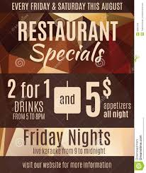 photo s flyer template images restaurant special flyer template stock vector image 42861536 restaurant special flyer template fun advertisement