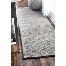 12 ft runner rugs handmade chunky braided light grey wool runner rug 12 ft runner rugs