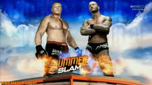 wwe summerslam 2016 match card brock lesnar vs randy orton