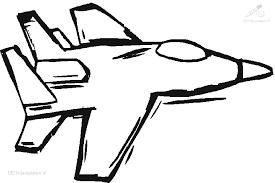 1001 Kleurplaten Voertuigen Vliegtuig Kleurplaat Straaljager