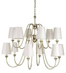 sweeping curved silver iron chandelier