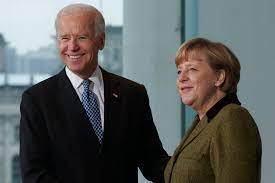 Angela dorothea kasner, better known as angela merkel, was born in hamburg, west germany, on july 17, 1954. Angela Merkel Invite Joe Biden En Allemagne La Presse
