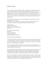 Sample Cover Letter Grad School Professional Resume Templates