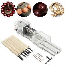 generic 24v 100w mini lathe beads polisher machine for wood woodworking diy rotary tool