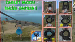 TABLET MODU NASIL YAPILIR ! Pubg Mobile Lite ! - YouTube
